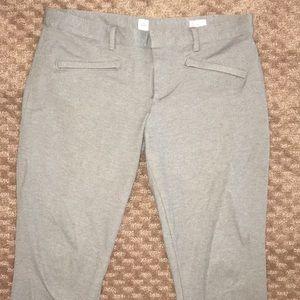 Grey gap work pants (skinny ankle)